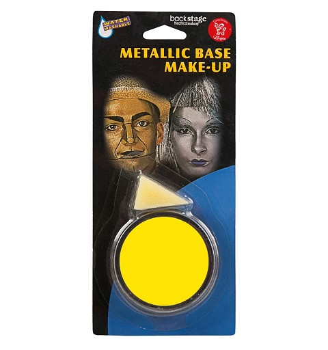 Tarro Maquillaje Amarillo
