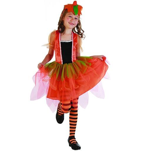 Disfraz Calabaza Hada Infantil