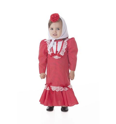 Disfraz Chulapa Bebe (0 a 12 meses )