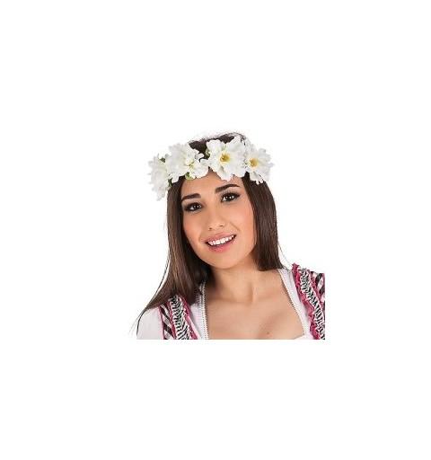 Corona Flores Blanca