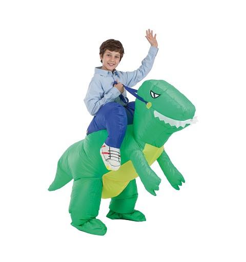Disfraz Hinchable Dino y Domador