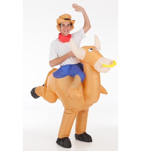 Disfraz Hinchable Toro con...
