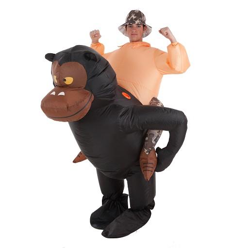 Disfraz Hinchable Gorila y...