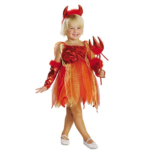 Disfraz Diablilla Pequeña Niña