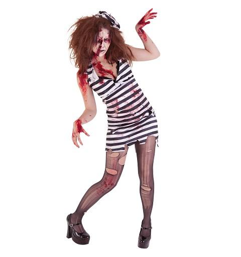 Disfraz Prisionera Zombie...