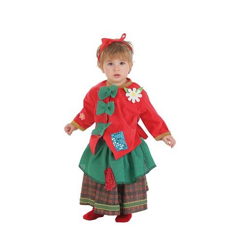 Disfraz Mendiga Bebe (0 a 12 meses)
