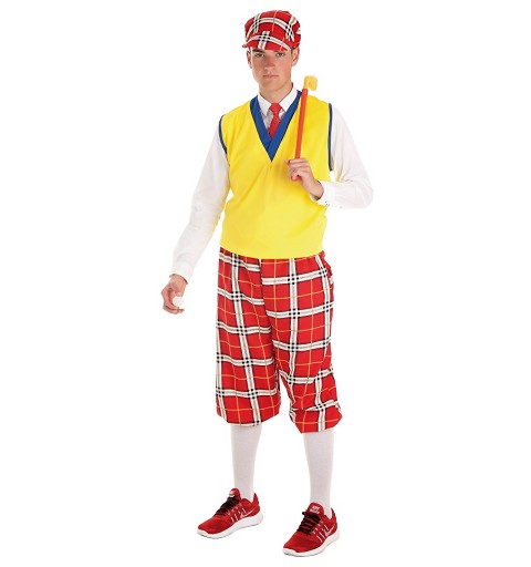 Disfraz Jugador Golf Adulto