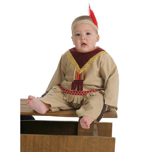 Disfraz Indio Sioux Bebe (0 a 12 meses)