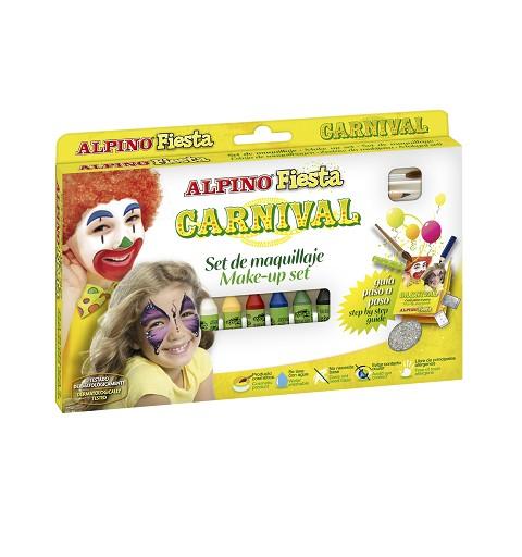 Maquillaje Set Carnival 6 Und.