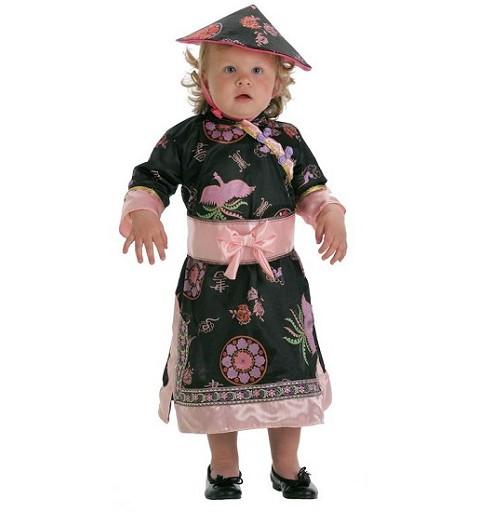Disfraz Bebe China Xilina