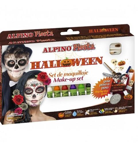 Maquillaje Set Halloween 6 Und.