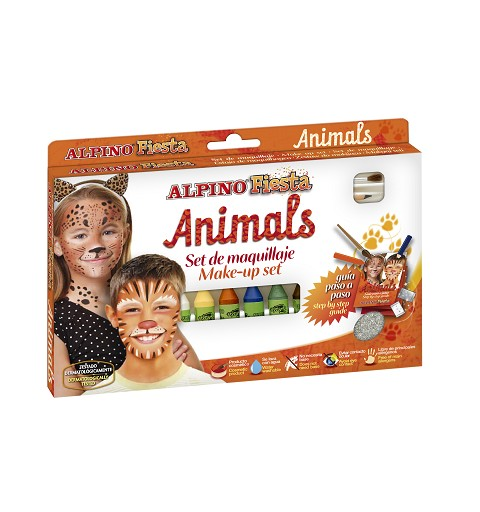 Maquillaje Set Animals 6 Col.