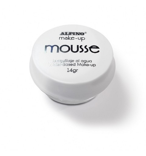Blister Maquillaje Mousse Blanco