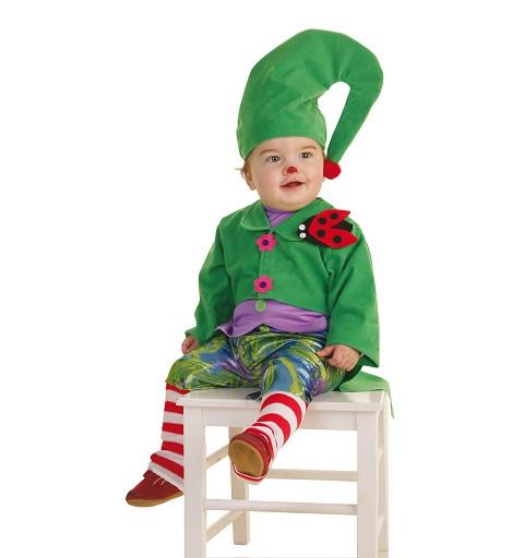 Disfraz Duende Verde Bebe...