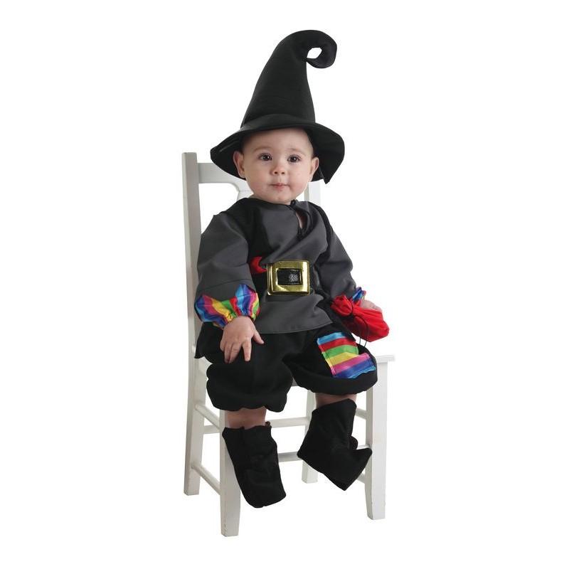 Disfraz Brujo Colorines Bebe 0 a 12 meses MiDisfraz