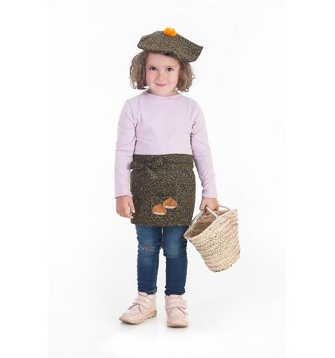 Disfraz Castañera Infantil...