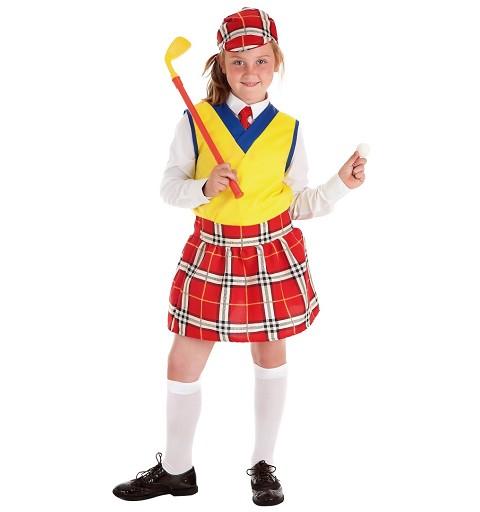 Disfraz de Jugadora de Golf...