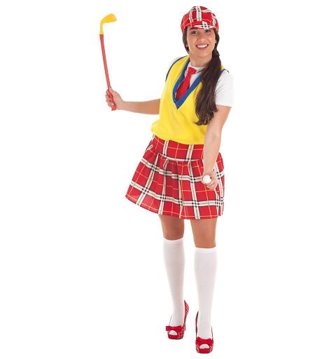 Disfraz de Jugadora Golf...