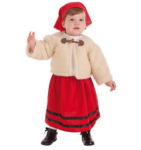 Disfraz Pastora Abrigo Bebe (1-2 Años)