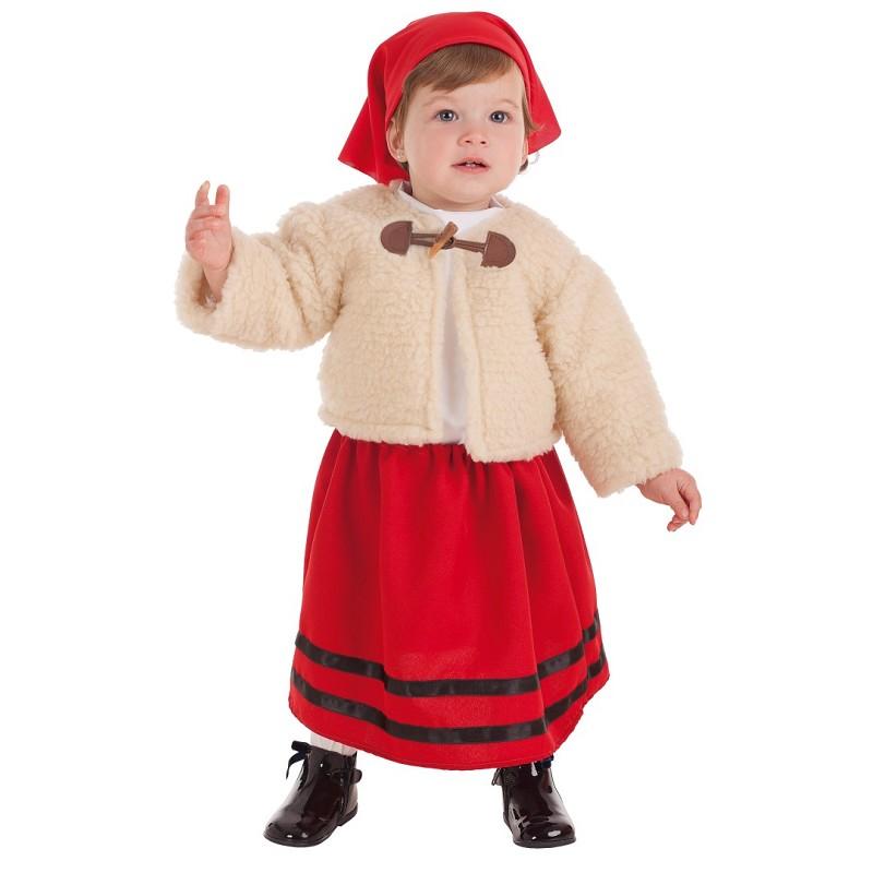 Disfraz Abrigo Pastora 2 1 Bebe Años Midisfraz w0vwxRzrn 1ad823042e7b