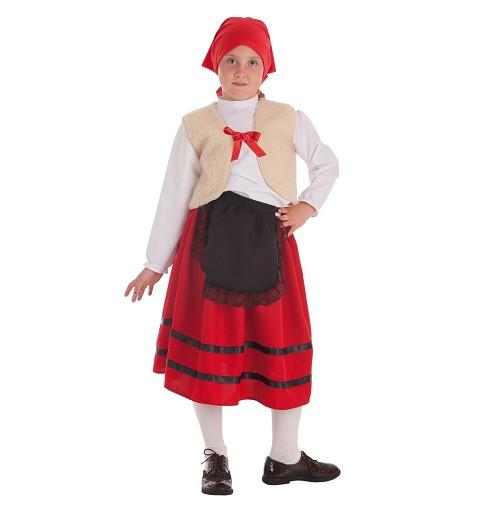 Disfraz Pastora Chaleco Infantil