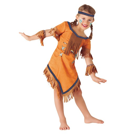 Disfraz India Cherokee Infantil
