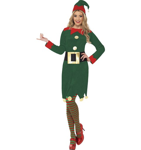 Disfraz Elfa Adulto
