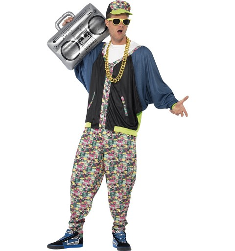 Disfraz Hip Hop Años 80 Adulto