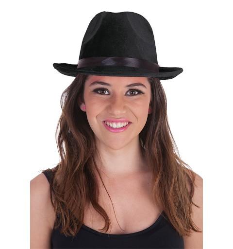 Sombrero Ganster Negro
