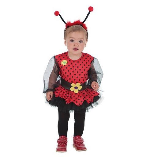 Disfraz Mariquita Niña Bebe (0 a 12 meses)