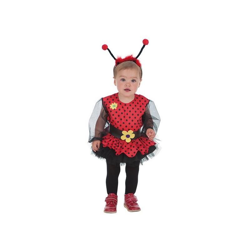 Disfraz de mariquita roja para beb de hasta 12 meses - Disfraz de mariquita de nina ...
