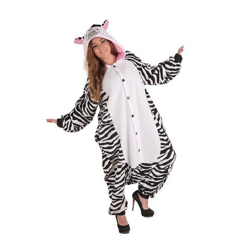 Disfraz Funny Zebra T-L