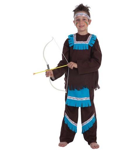 Disfraz Indio Azul Niño...