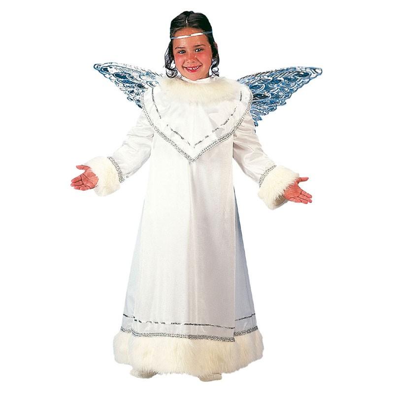 aeafa21fb Disfraz de Ángel con Túnica y Alas para Niño y Niña - MiDisfraz