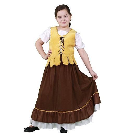 0ea174c36 Disfraz de Campesina Carlota con Falda para Mujer - MiDisfraz