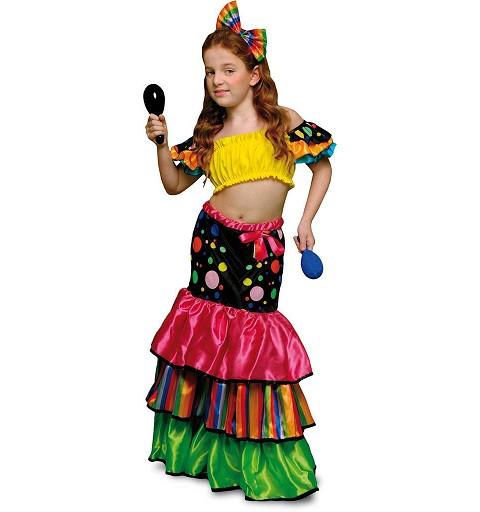 Disfraz de Cubana Salsa...