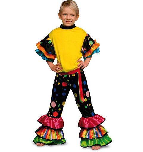 Disfraz Salsa Topos Colores...