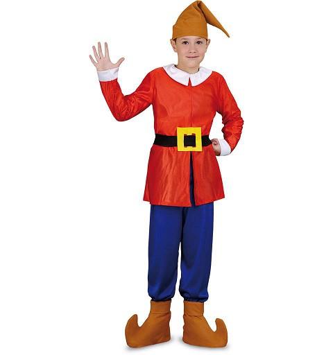 Disfraz Enanito Rojo Niño