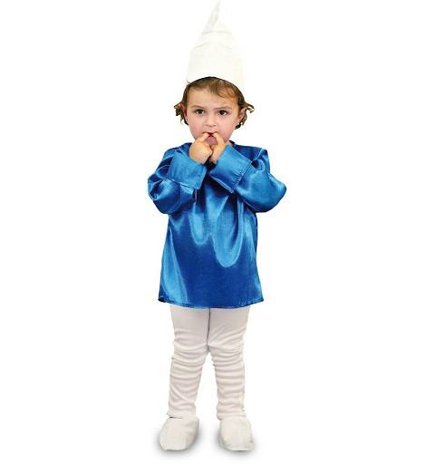 Disfraz Duende Azul Infantil
