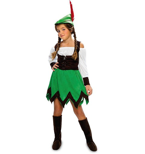 Disfraz de Robin Hood Falda...