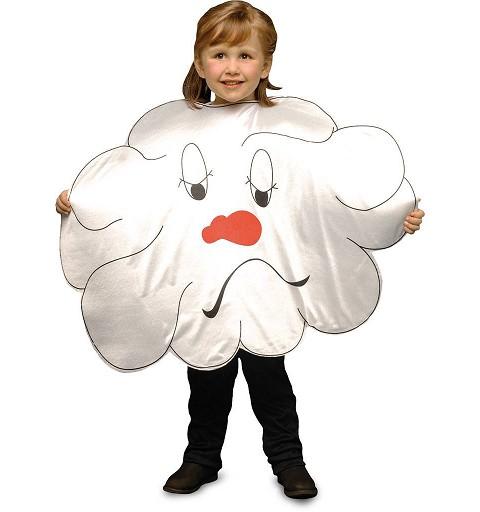 Disfraz de Nube Infantil
