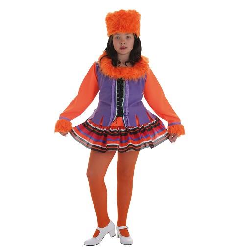Disfraz de Rusa para Niña