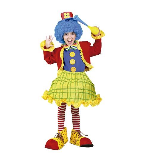 Disfraz Payasita Colorines Chaquetilla Infantil
