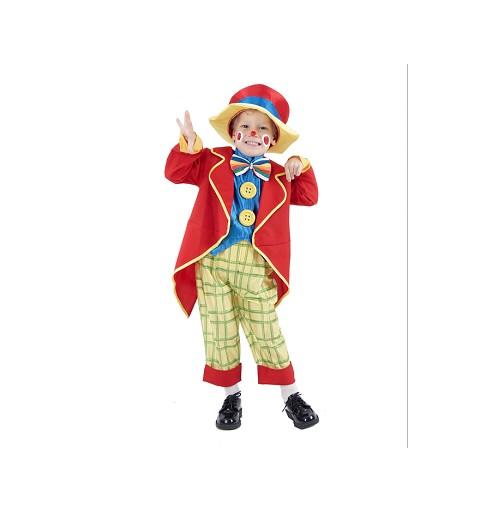 Disfraz Payaso Chaqueta Infantil