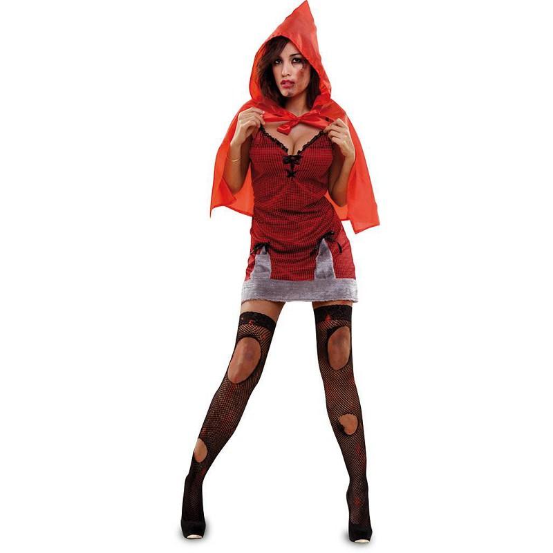 Disfraces Para Halloween De Caperucita Roja.Disfraz Caperucita Roja Zombie Adulto