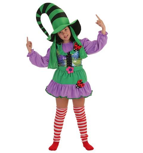 Disfraz Duendecilla Verde Infantil