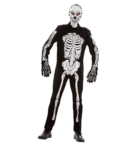 Disfraz Esqueleto Capucha...