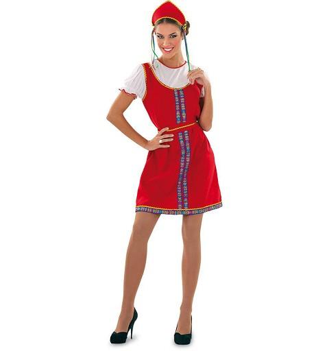 Disfraz de Rusa para Mujer