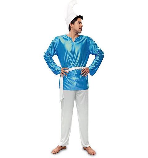 Disfraz Duende Azul Adulto
