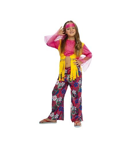 Disfraz de Hippie Flecos...